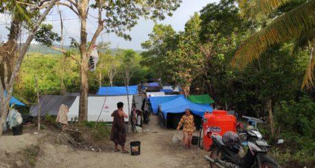 Peduli Pengungsi Gempa Sulbar